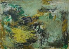 Albert Kotin, Untitled, 1958 Oil on paper, 14 1/2 x 20 1/2 inches