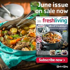 Cure the winter blues with good mood food and comfort classics in our June #Freshliving issue.