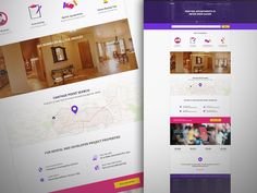Housing Homepage Concept