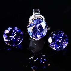 Custom Tanzanite jewelry and gemstones including rings, pendants, earrings and bracelets. One-of-a-kind designs brought back directly from the mines in Tanzania.