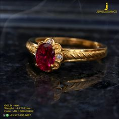 Gold 916 Premium Design Get in touch with us on Gold Ring Designs, Gold Earrings Designs, Gold Jewellery Design, Designer Jewellery, Gold Jewelry Simple, Gold Rings Jewelry, Coral Jewelry, Jewlery, Indian Earrings