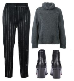 """""""peace out"""" by redapplecigarettes ❤ liked on Polyvore featuring DKNY and STELLA McCARTNEY"""
