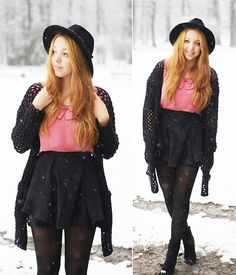Snow! (by Gabriela Grębska) http://lookbook.nu/look/4329195-Snow