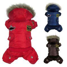 Купить товарГорячая новое поступление горячая зима теплая маленькая собака одежды любимчика хлопка ватник толстовка комбинезон брюки одежда XS XL в категории Пальто и курткина AliExpress.     Зима маленькая СОБАКА ПЭТ теплая одежда набивочного балахон комбинезон брюки одежда       Стили: зима хлопка пальто