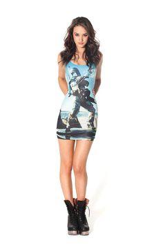 Boba Fett Dress - Black Milk Clothing