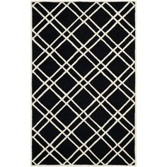 You'll love the Cambridge Black Area Rug at Wayfair - Great Deals on all Décor products with Free Shipping on most stuff, even the big stuff.