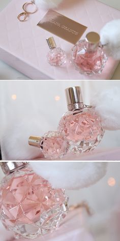 ari by ariana grande Ariana Grande Perfume, Ariana Grande Fans, Ari Perfume, Perfume Bottles, Ariana Merch, Sweet Like Candy, Dangerous Woman, Everything Pink, Smell Good
