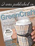 Daisies & Crazies' Snuggly Sweater Vase, featured in GreenCraft Magazine, Autumn 2013