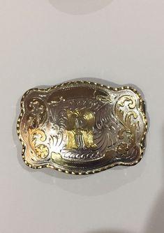 Antique Vintage Retro Finish Belt Buckle 38mm 1 1//2 Inch Buckle Chrome D8
