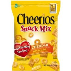I'm learning all about Cheerios Snack Mix Cheddar at @Influenster!