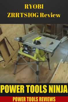 If you are looking for a certified refurbished table saw at an affordable price, then you should go ahead and read my Ryobi ZRRTS10G review. via @powertoolsninja