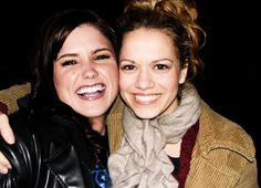 Favorite Cast Friendship-Sophia and Joy  I think their real life friendship reflects that of Brooke and Haley's. They've been there for each other, but they've also had falling outs and have made up. What they said about each other at the Evening with One Tree Hill brought me to tears and showed everyone just how much they love each other <3