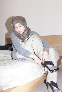 always like simple chic style's Hana Tajima