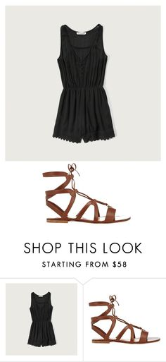 """""""Disney night #7"""" by wdwswimmer on Polyvore featuring Abercrombie & Fitch and Gianvito Rossi"""