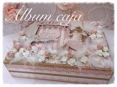 Mini Scrapbook Albums, Baby Scrapbook, Mini Albums, Papel Scrapbook, Wedding Cards, Our Wedding, Bordado Popular, Homemade Journal, Decoupage Box