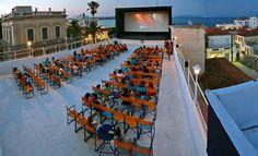 Σινε Μαρινα Σπετσες Outdoor Cinema, Under The Stars, Athens, Greece, Dolores Park, Street View, Around The Worlds, Island, Summer