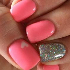 50 Stunning Manicure Ideas For Short Nails With Gel Polish That Are More Excitin. - Nails - 50 Stunning Manicure Ideas For Short Nails With Gel Polish That Are More Exciting Gel Nail Art Designs, Winter Nail Designs, Short Nail Designs, Cute Nail Designs, Nails Design, Fingernail Polish Designs, Accent Nail Designs, Salon Design, Gel Nail Polish