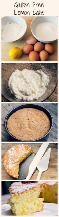 How to Make Gluten Free Lemon Cake Recipe