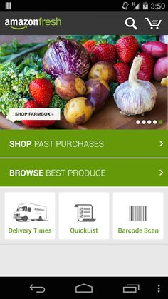 Amazon Fresh grocery delivery service delivers everything from eggs to electronics to NYC.