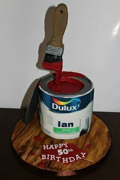 painters builders cake - Google Search