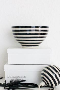 Schale Bunzlauer Keramik schwarz - HOUSE of IDEAS