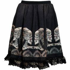 Cameo Skull Skirt image 1