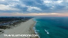 Trigg Beach Sunset by drone