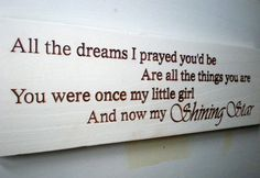 Beautiful+quotes+to+Daughters+for+graduation | Beautiful Daughter Graduation Coming Of Age Wood Sign on Wanelo