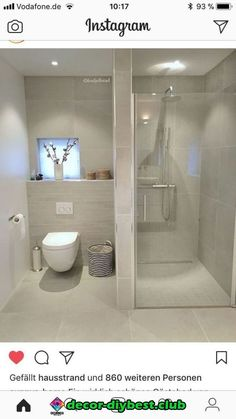 mater bathroom is entirely important for your home. Whether you pick the bathroom ideas remodel or diy bathroom remodel ideas, you will make the best rebath bathroom remodeling for your own life. Ensuite Bathrooms, Bathroom Toilets, Bathroom Renos, Master Bathroom, Bathroom Cabinets, Bathroom Doors, Bathroom Lighting, Bathroom Bath, White Bathroom