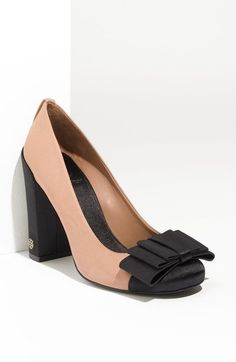 Cicely Satin Pump - Lyst