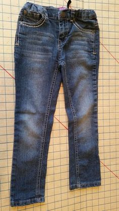 Vigoss Girls Jeans size 6 Denim Pants Adjustable Waist Embroidery Peace Skinny  #Vigoss #SlimSkinny #Everyday