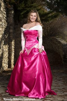 Sleeping  Beauty Adult Costume   Adjustable and by SpeedyCostumes, Disney Princess