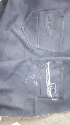 Jeans Fashion, Pocket Detail, Jeans Style, Denim Jeans, Logo Design, Menswear, Skinny, Pants, Bermudas