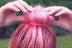 Cute pink bun!   Photo: @HeyDickface