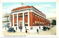C1915 PC Jasper County Savings Bank Newton Iowa | eBay