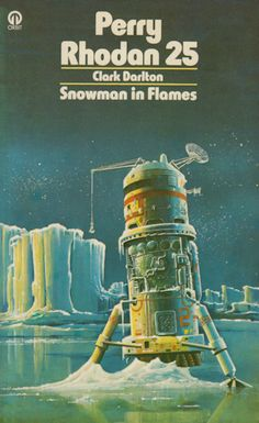 Snowman in Flames