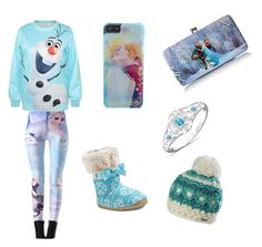 """""""Frozen"""" by lindsey-nyhagen on Polyvore featuring Disney, Target, The Bradford Exchange and prAna"""