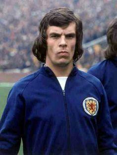 Joe Jordan of Scotland in 1973.