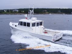 Lindsey E, a Calvin Beal 36 finished by Sargent's Custom Boats. (2008)