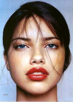 Portrait Photography of Adriana Lima