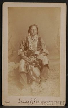 "Photograph of a Delaware Man, ""Enoch Hoag"" by Lenny and Sawyers, Purcell, Indiana Territory. Provenance: Estate of Ed McAndrews. Native American Tribes, Native American History, Native Americans, History Books, Family History, Delaware Indians, Historical Images, Nativity, Genealogy"