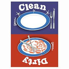 clean dishes sign - photo #24