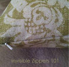 Tutorial Tuesday: Throw Pillow with Invisible Zipper - Schlosser Designs   Blog