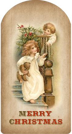 Here is some wonderful Victorian Christmas Clipart for you. Great to use in crafts, Christmas cards, etc. Images Noêl Vintages, Images Vintage, Vintage Christmas Images, Old Christmas, Old Fashioned Christmas, Look Vintage, Victorian Christmas, Christmas Gift Tags, Vintage Holiday