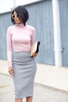 Walk in Wonderland: PINK AND GREY