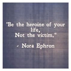 Never be a victim!