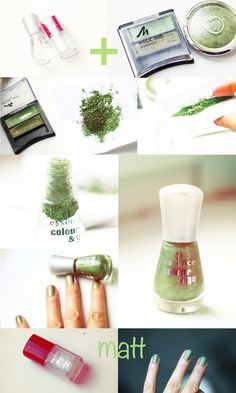 DIY Nagellack aus Lidschatten