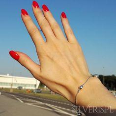 Bransoletka srebrna Kulki - ZOBACZ W SKLEPIE Delicate, Bracelets, Jewelry, Jewlery, Jewerly, Schmuck, Jewels, Jewelery, Bracelet
