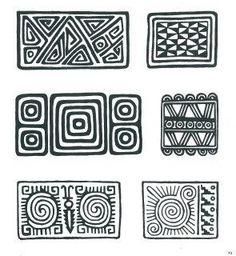 Sampling of Pre-Colombian Incan Symbols Arte Tribal, Aztec Art, Pattern Art, Pattern Design, Inca Art, Colombian Art, Ethnic Patterns, Indigenous Art, Zentangle Patterns