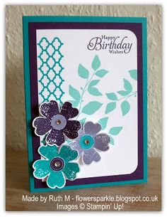 Flower Sparkle: August Card Group Projects
